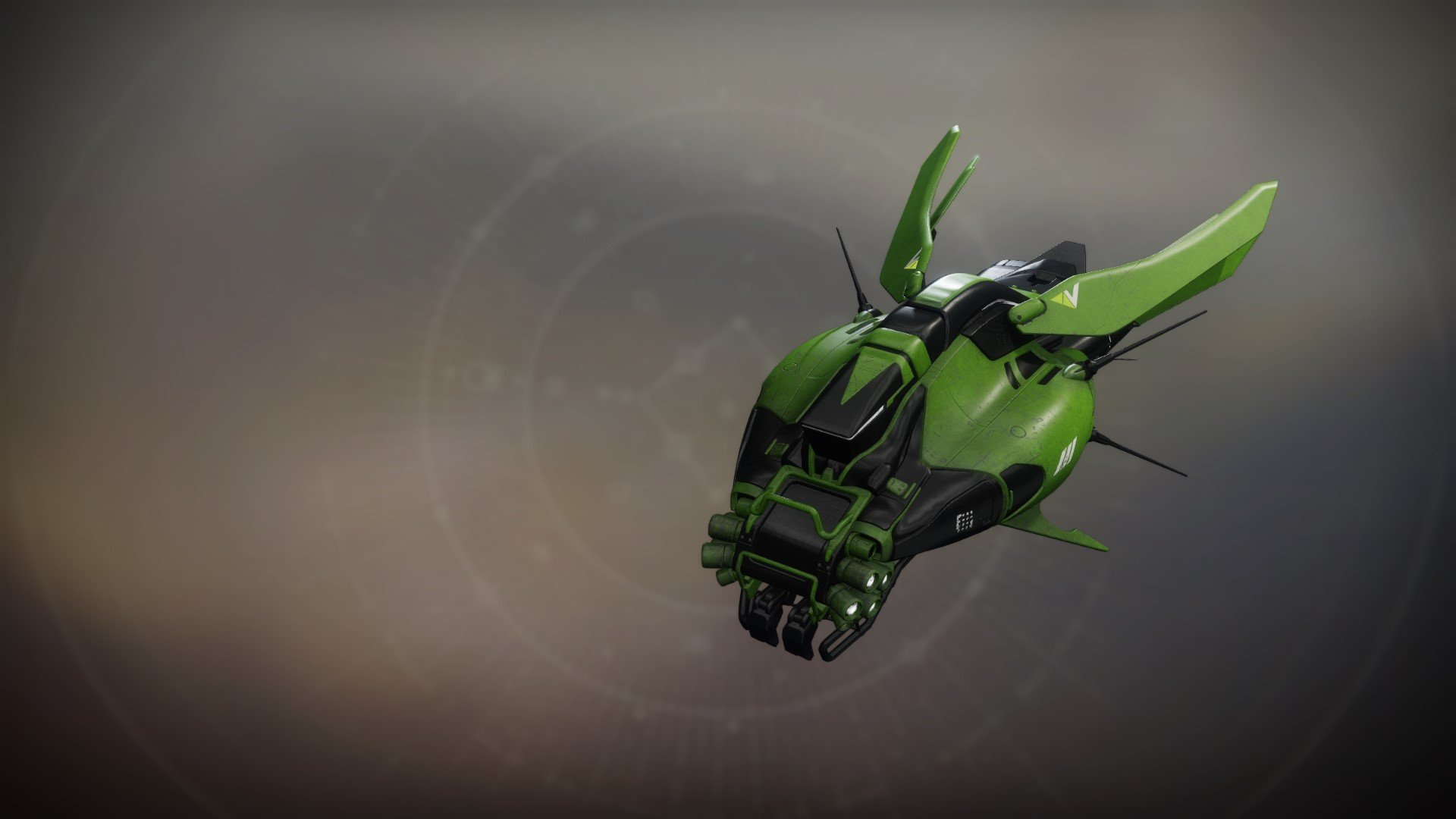 An in-game render of the Chrysopelea-S.
