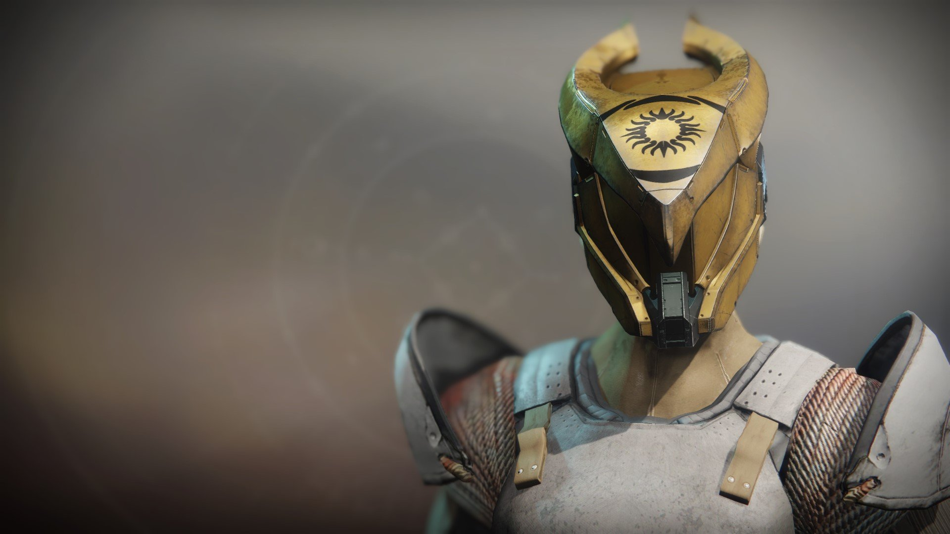 An in-game render of the Helm of the Exile.