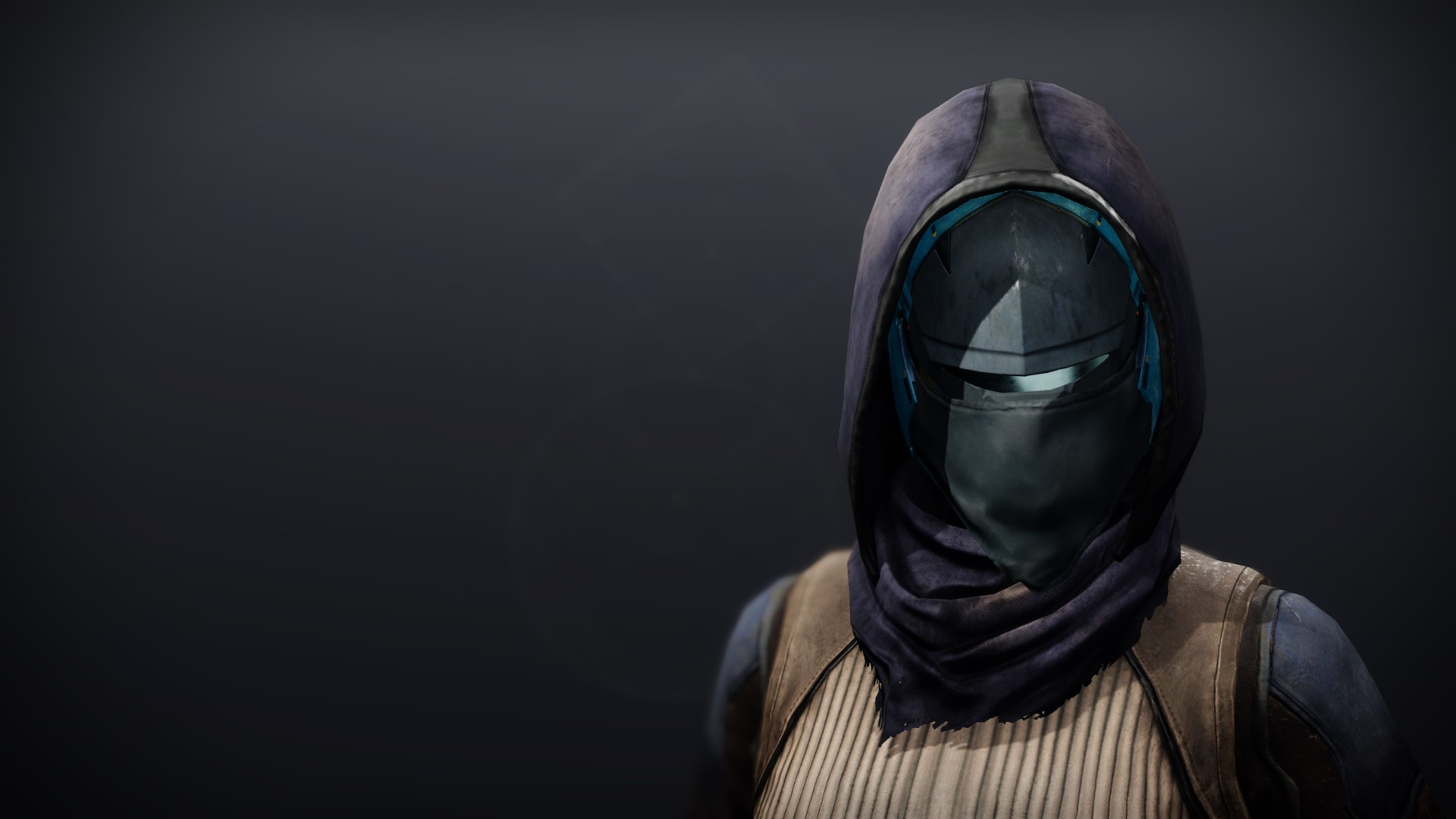 An in-game render of the Frumious Mask.