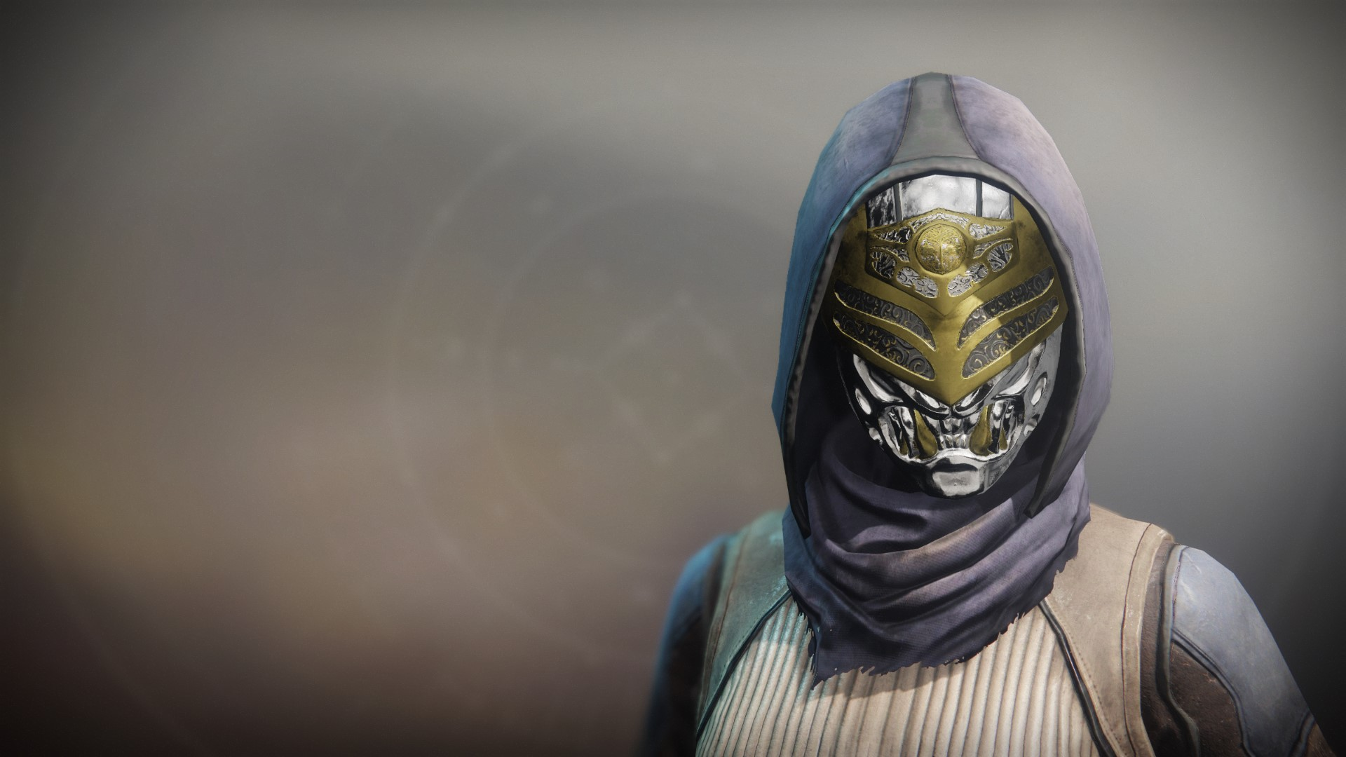 An in-game render of the Iron Truage Casque.