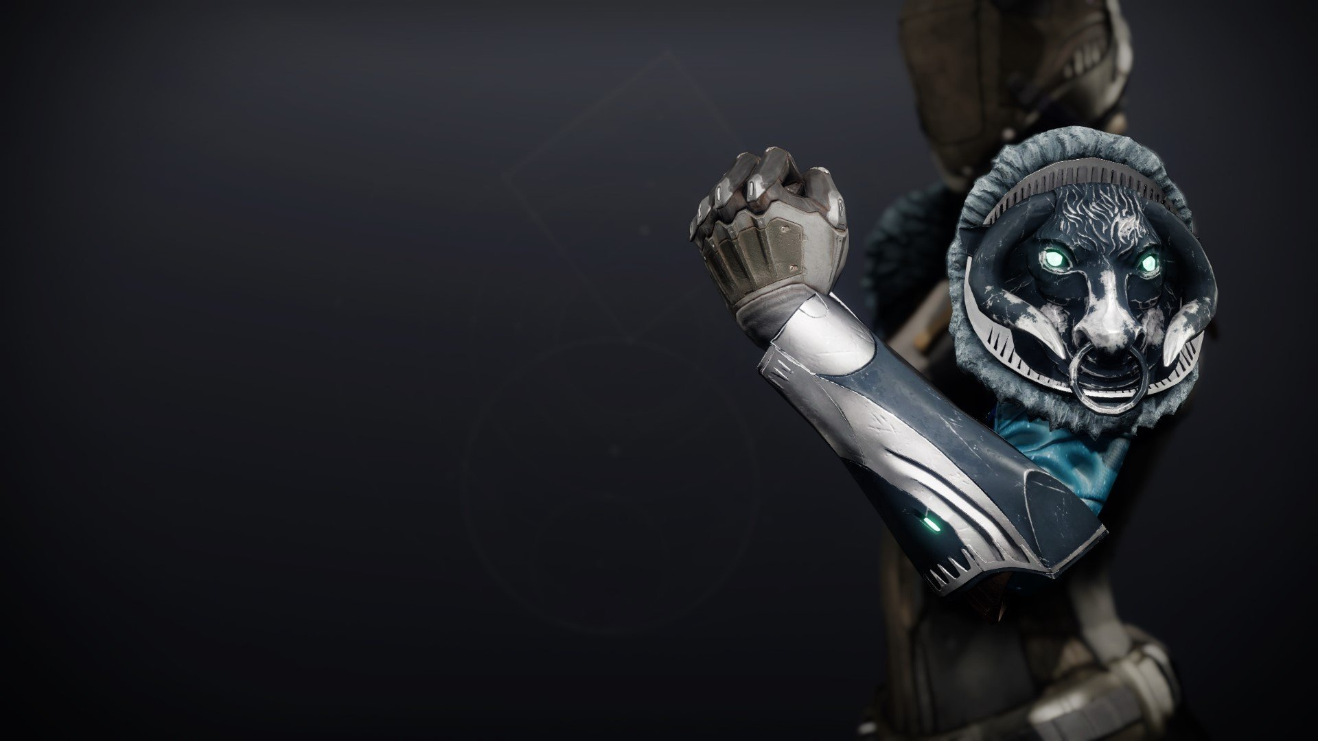 An in-game render of the Celestial Gauntlets.