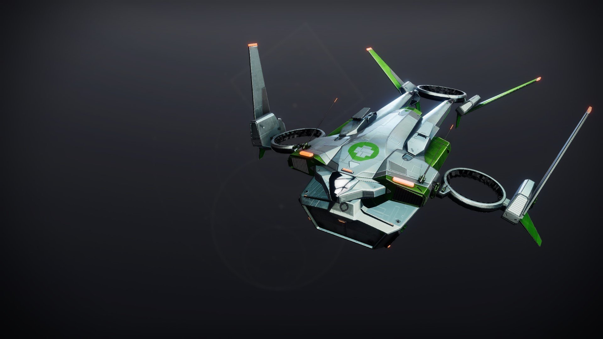 An in-game render of the M3-D1 Valkyrie.