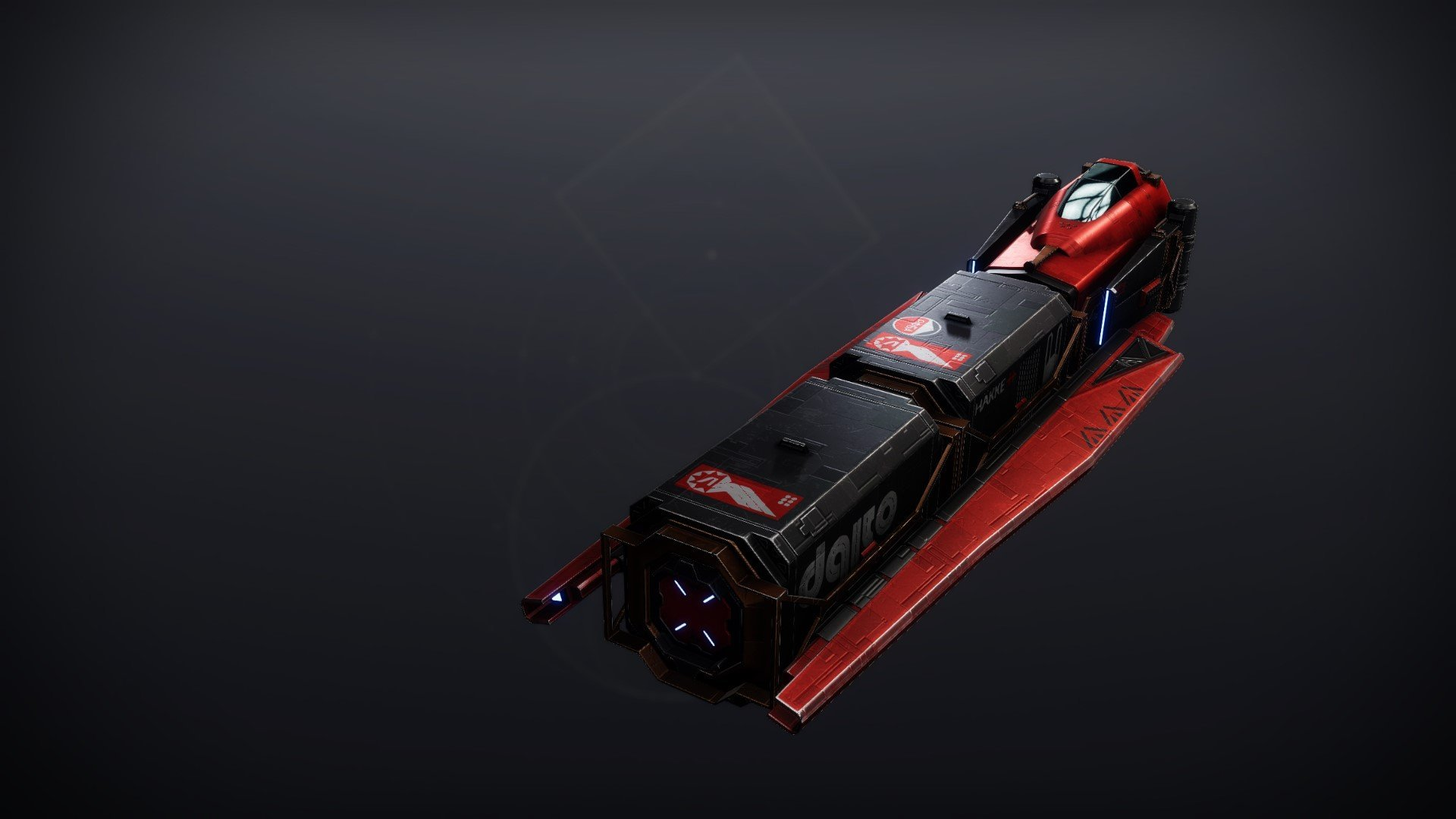 An in-game render of the Long Haul Cruiser.