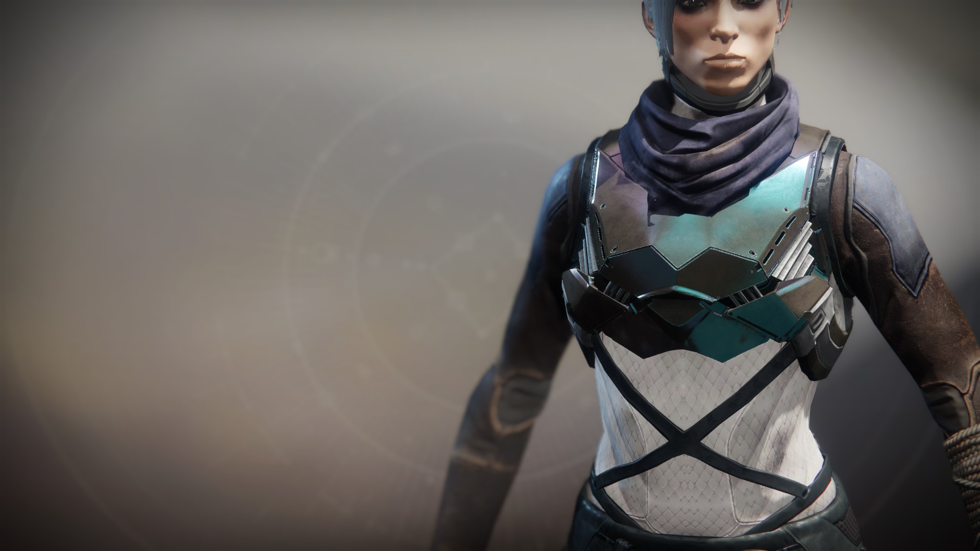 An in-game render of the Flowing Vest (CODA).