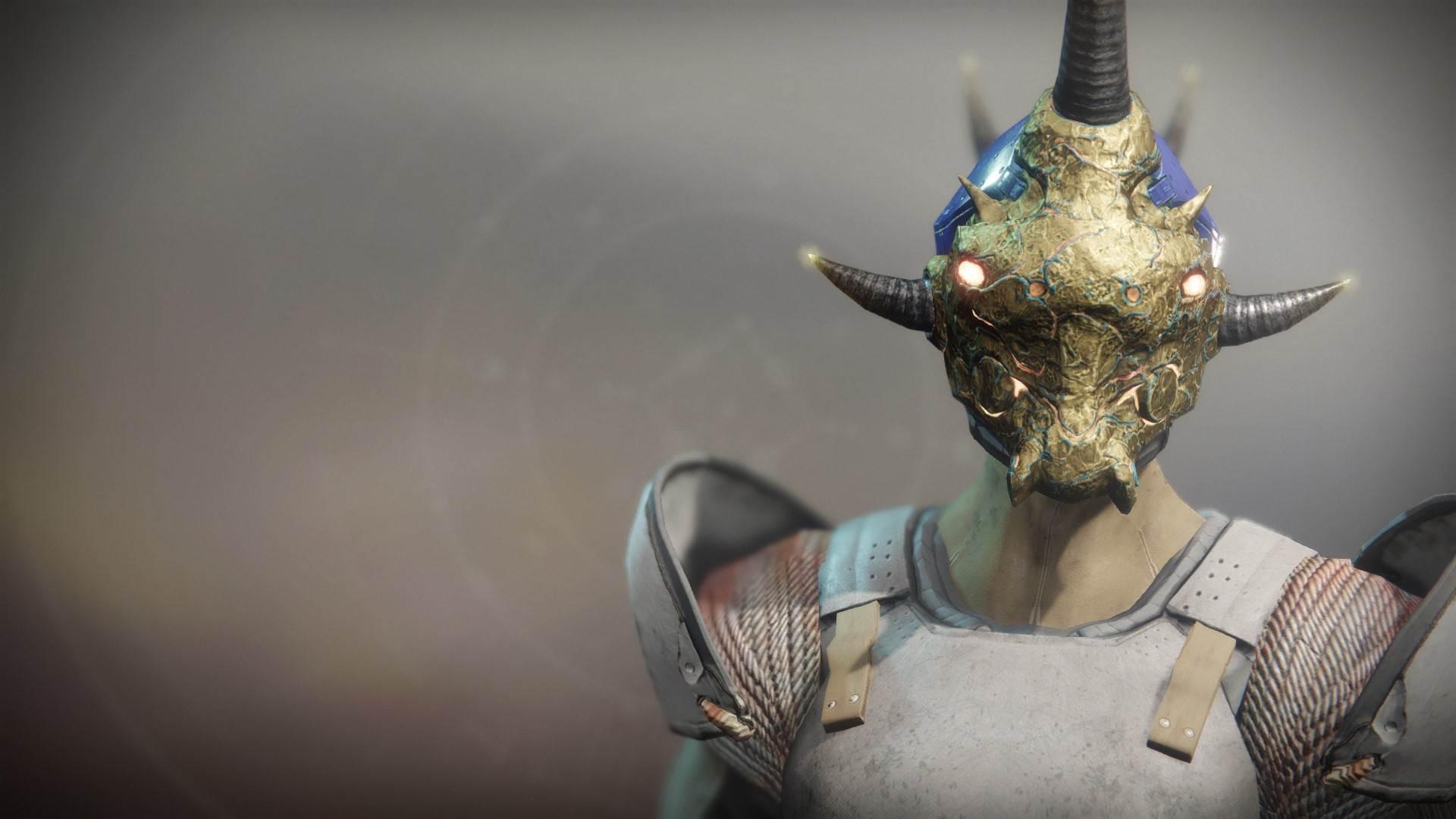 An in-game render of the Khepri's Horn.