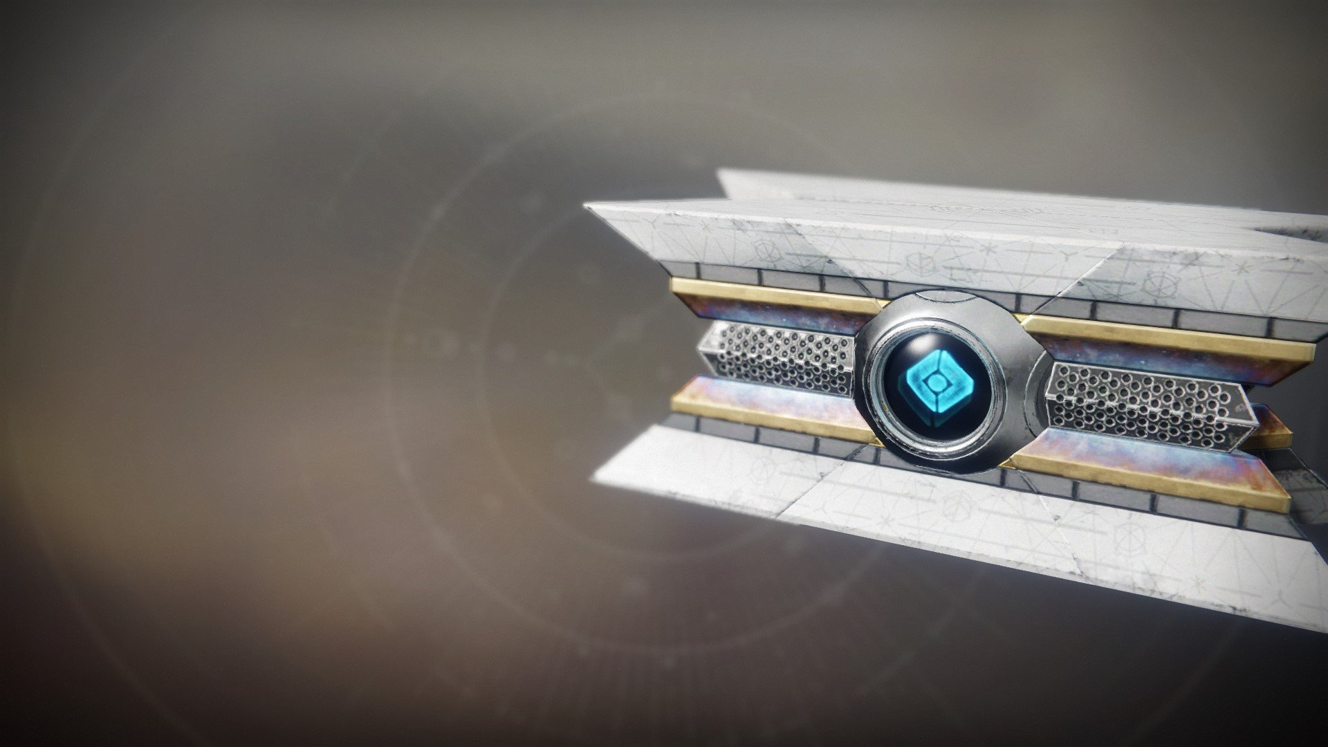 An in-game render of the Sunshot Shell.