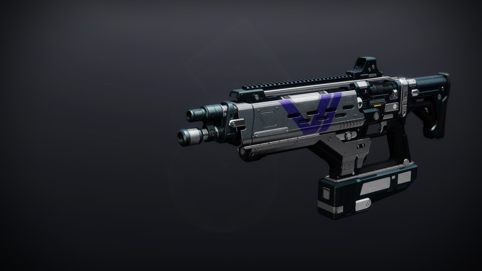An in-game render of the PLUG ONE.1 (Adept).