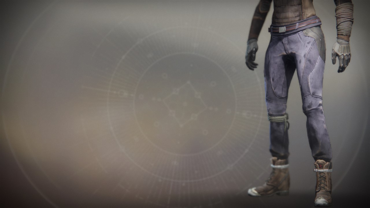 An in-game render of the Refugee Boots.
