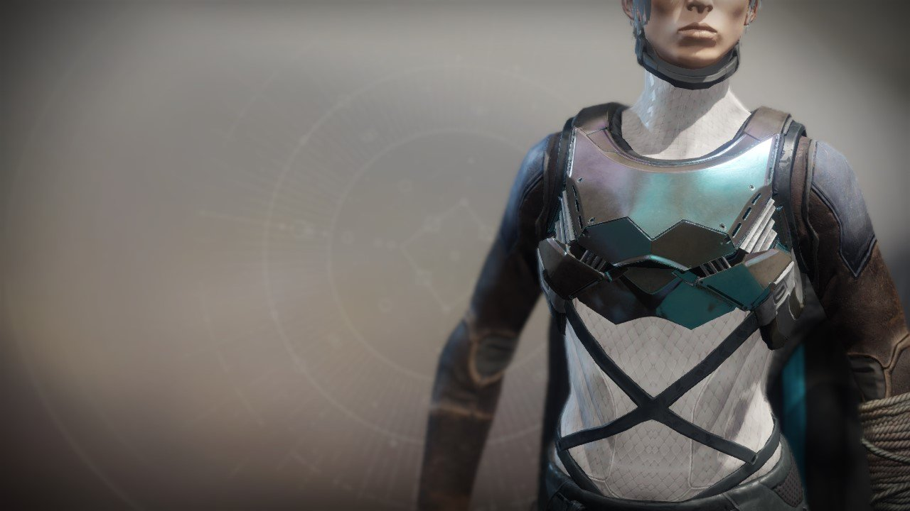 An in-game render of the Flowing Vest.