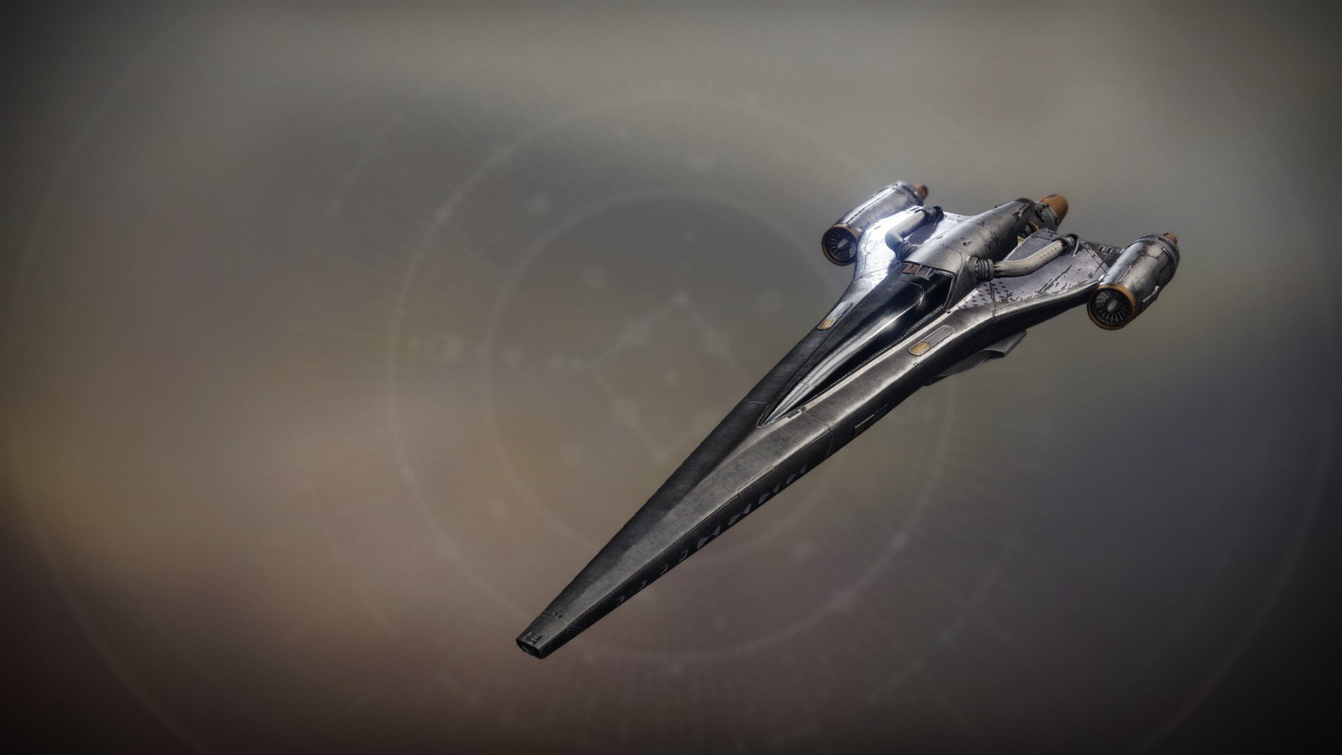 An in-game render of the Black Peregrine.