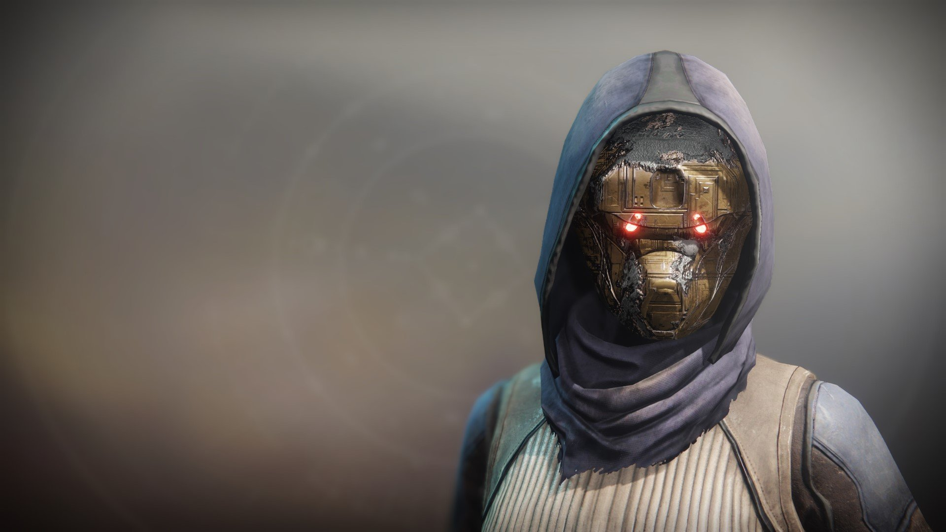 An in-game render of the Cowl of Righteousness.