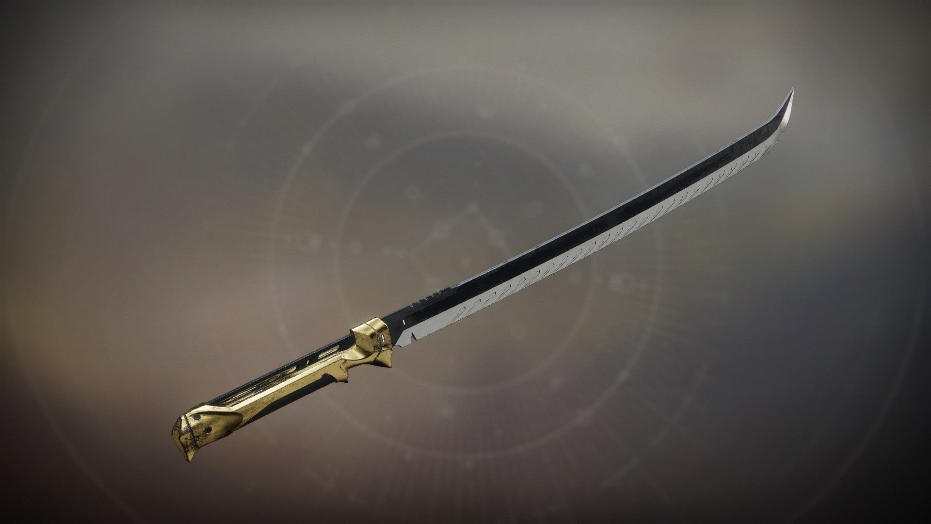An in-game render of the Goldtusk.