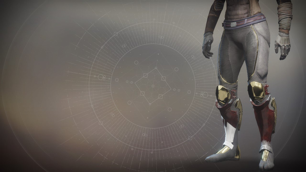 An in-game render of the Sovereign Boots.