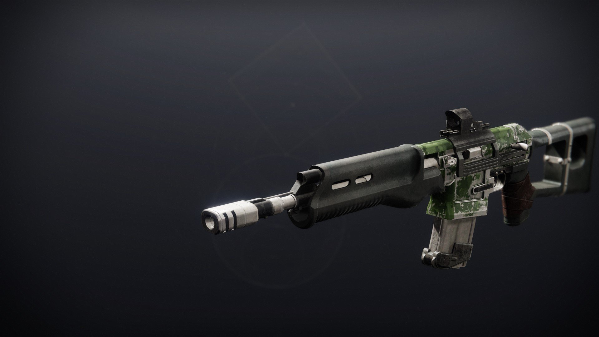 An in-game render of the Scathelocke.