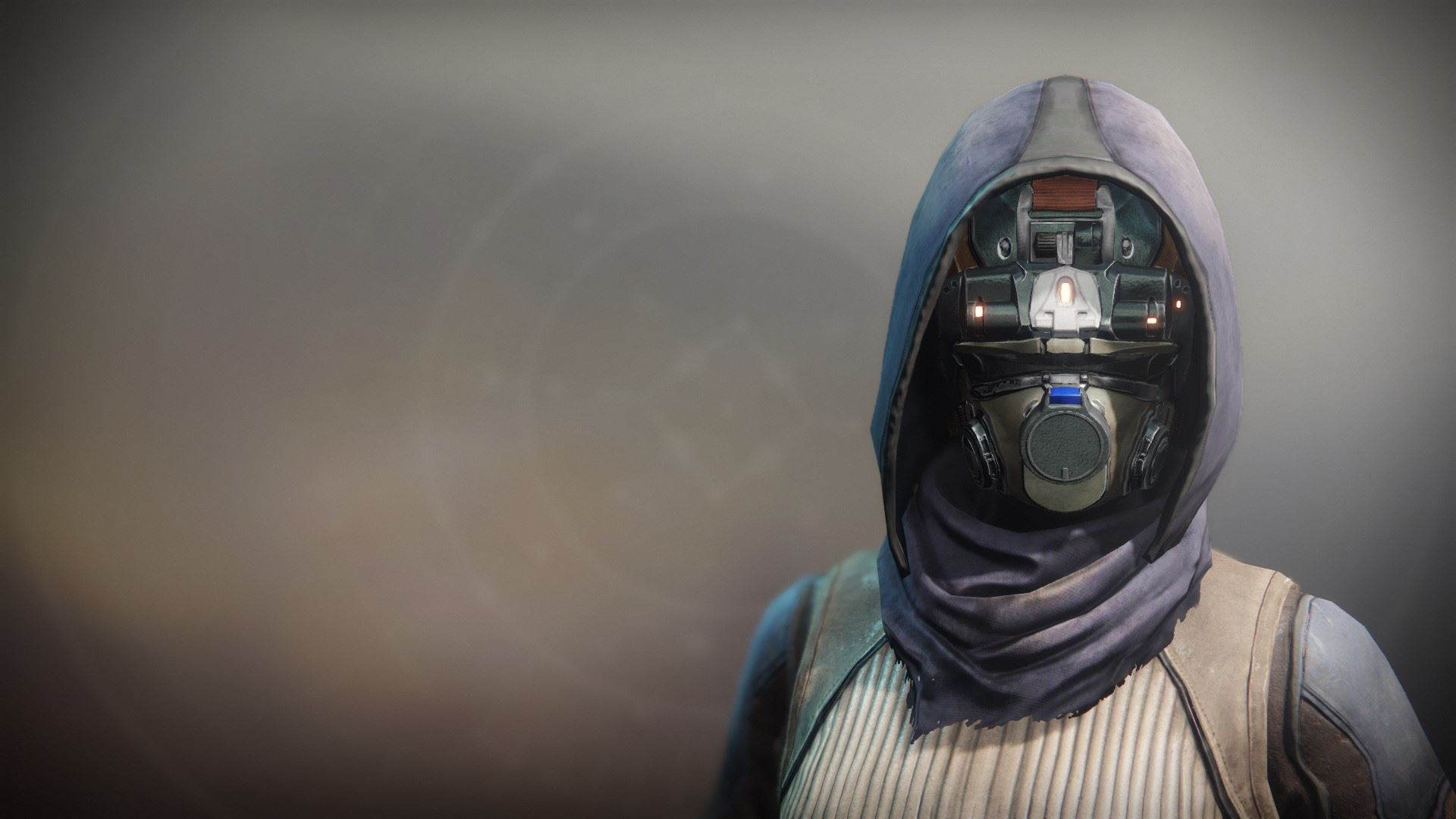 An in-game render of the Ancient Apocalypse Mask.
