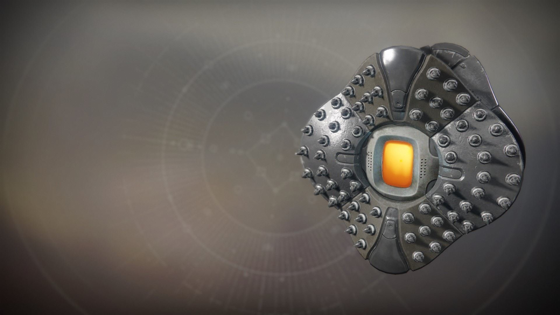 An in-game render of the Riveted Majesty Shell.