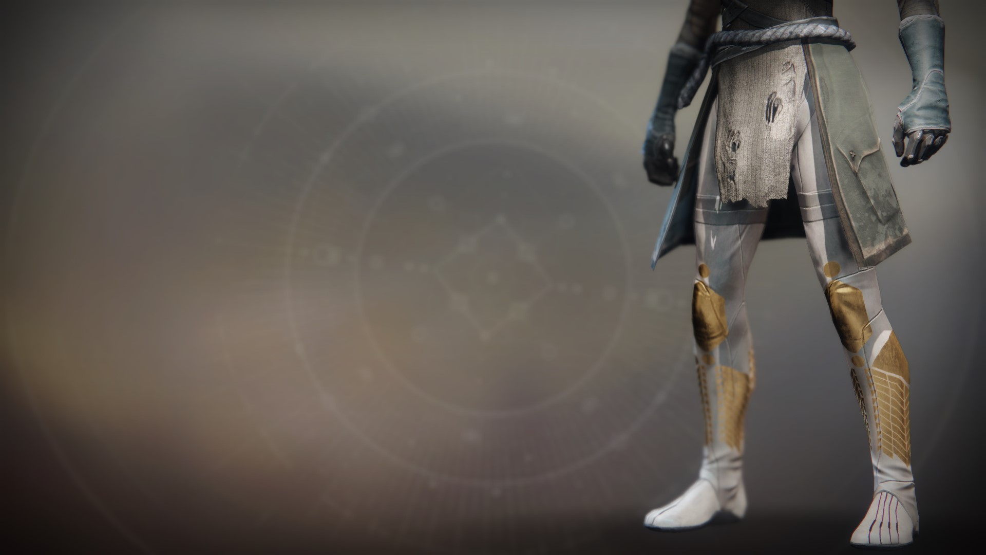 An in-game render of the Boots of the Fulminator.