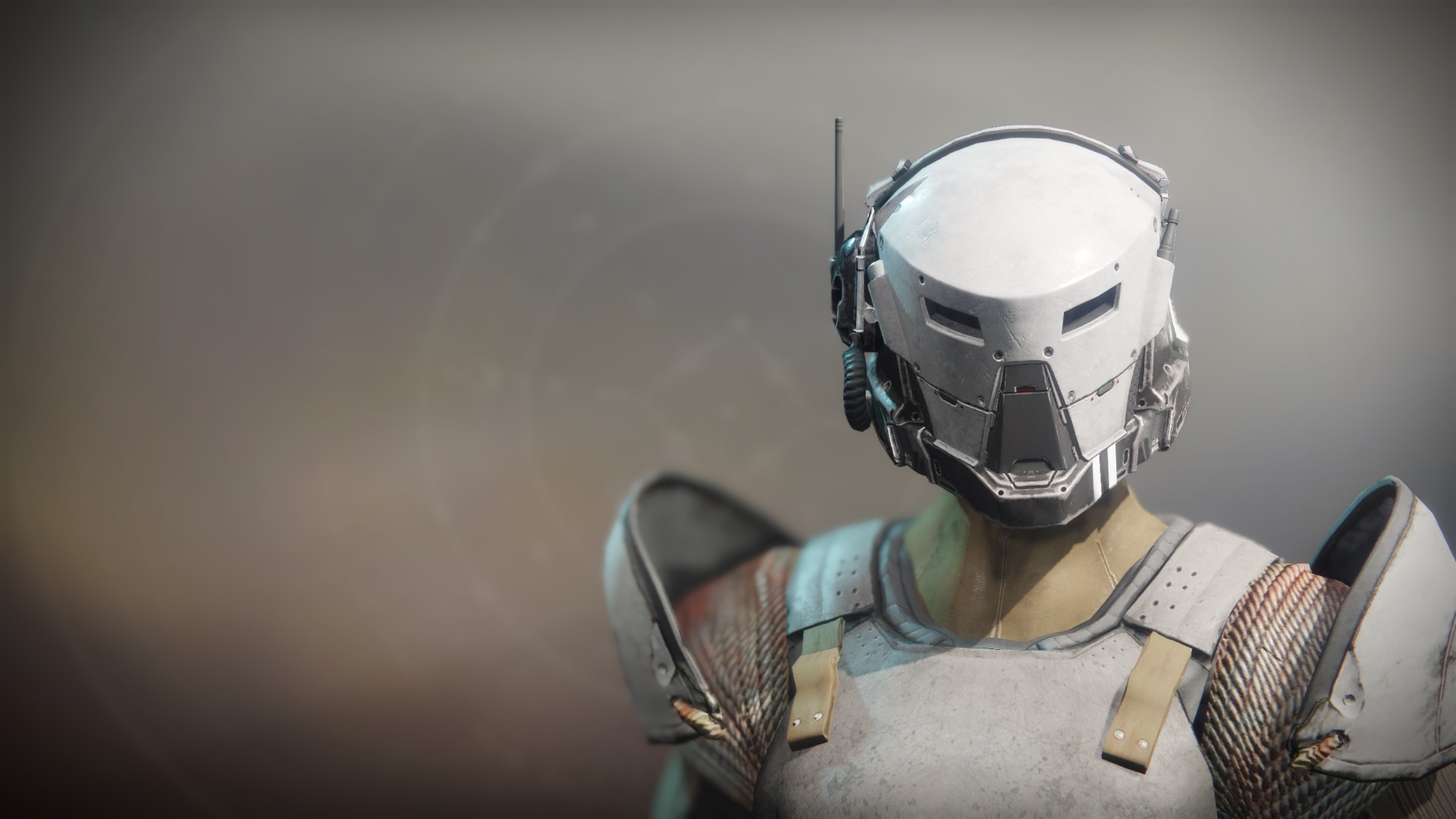 An in-game render of the Anti-Extinction Helm.