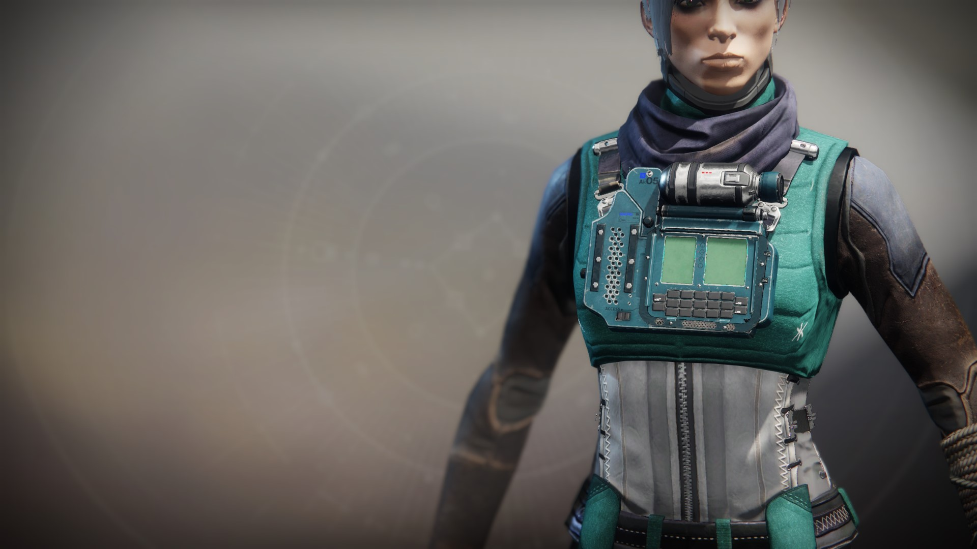 An in-game render of the Lost Pacific Vest.