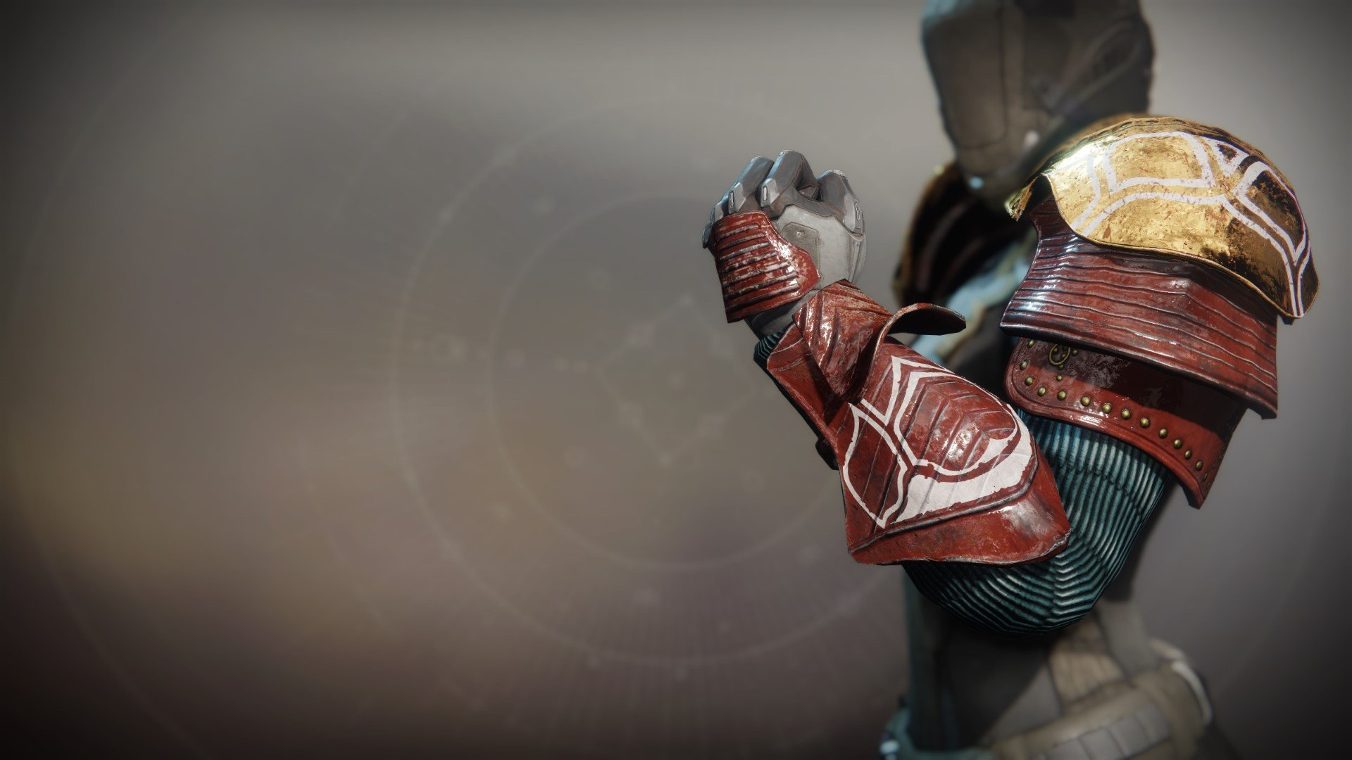 An in-game render of the Iron Remembrance Gauntlets.