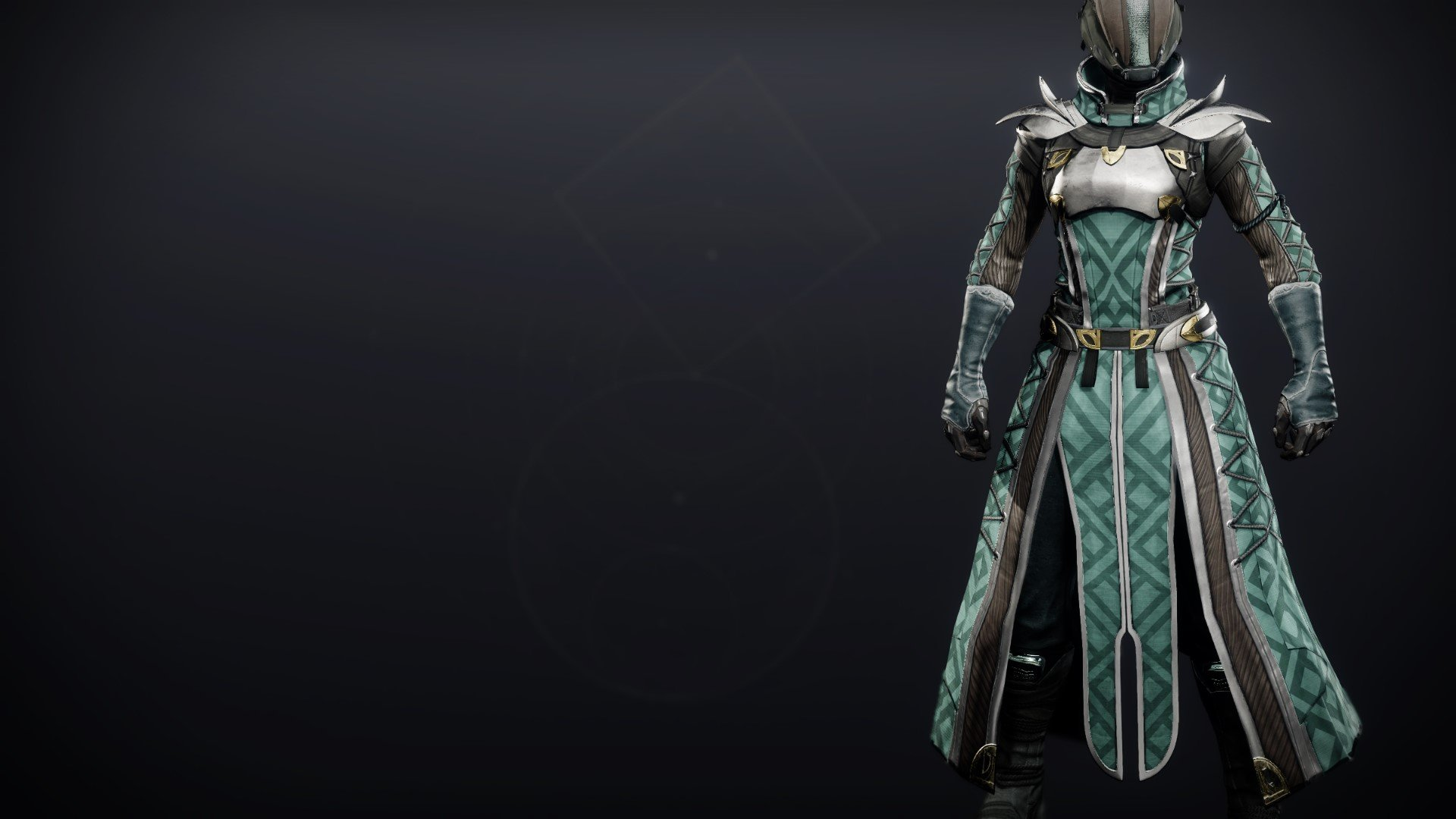 An in-game render of the Reverie Dawn Tabard.