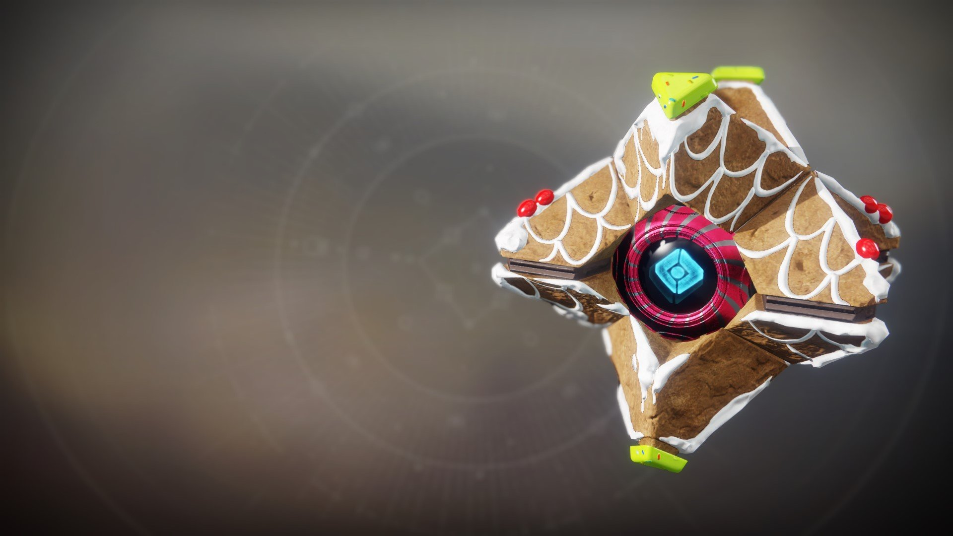 An in-game render of the Confectionery Shell.