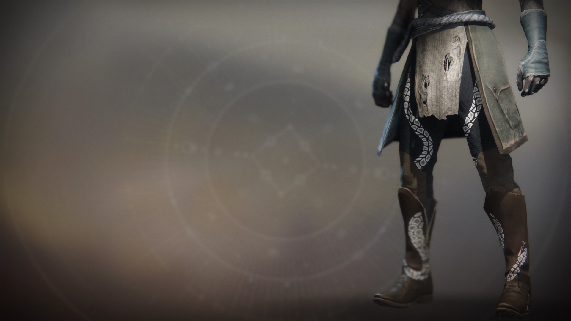 An in-game render of the Notorious Collector Boots.