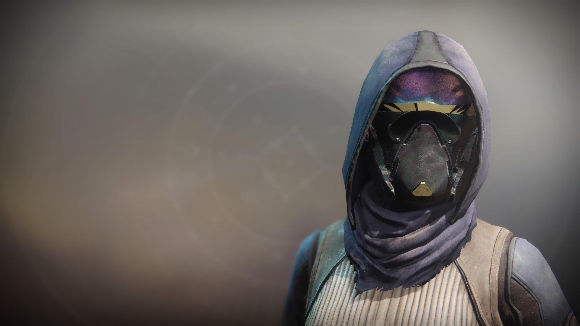 An in-game render of the Mask of Feltroc.