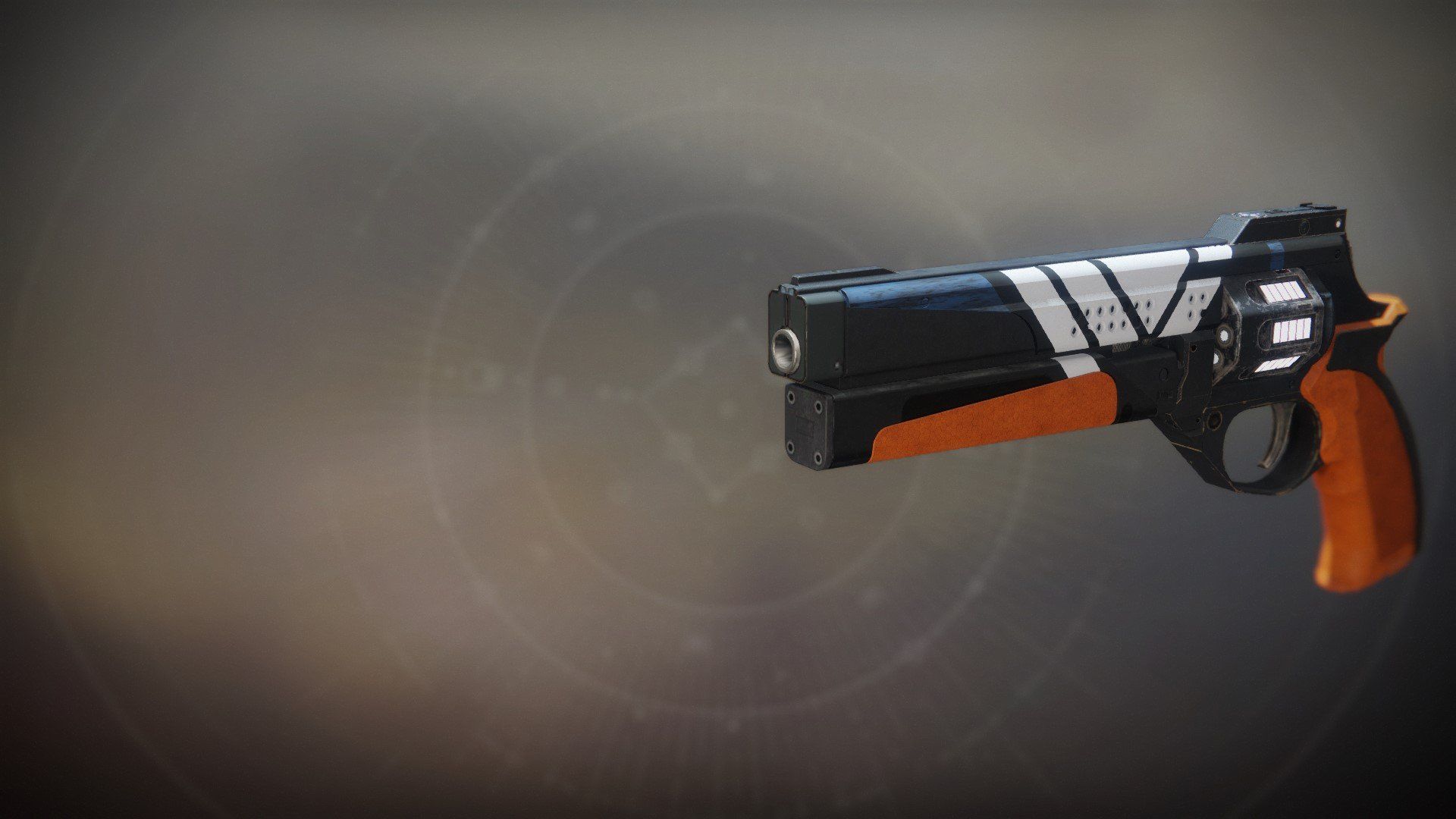 An in-game render of the Service Revolver.