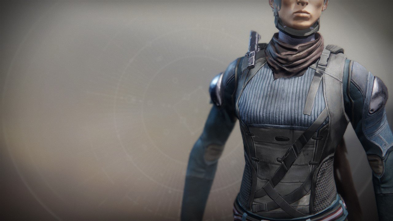 An in-game render of the Scavenger Suit.