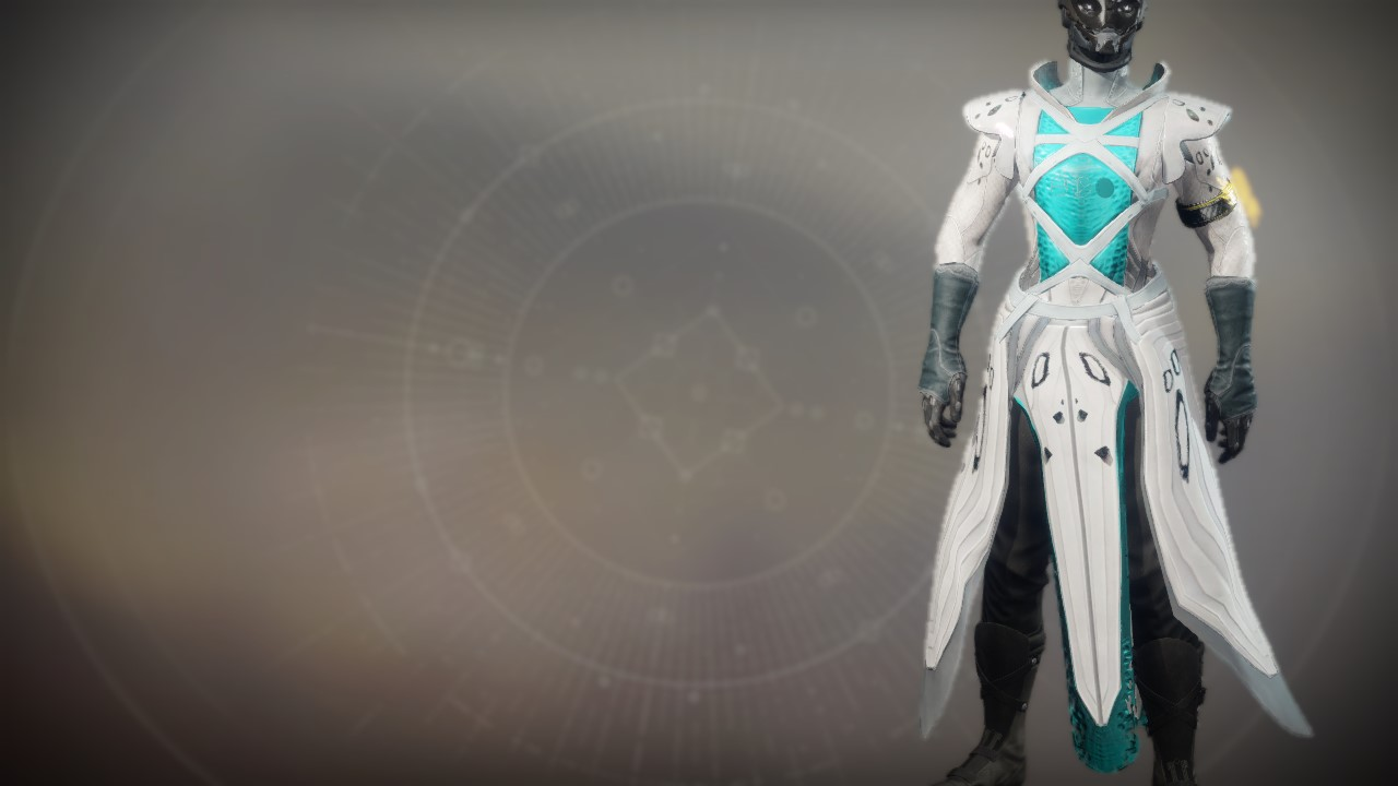 An in-game render of the Focusing Robes.