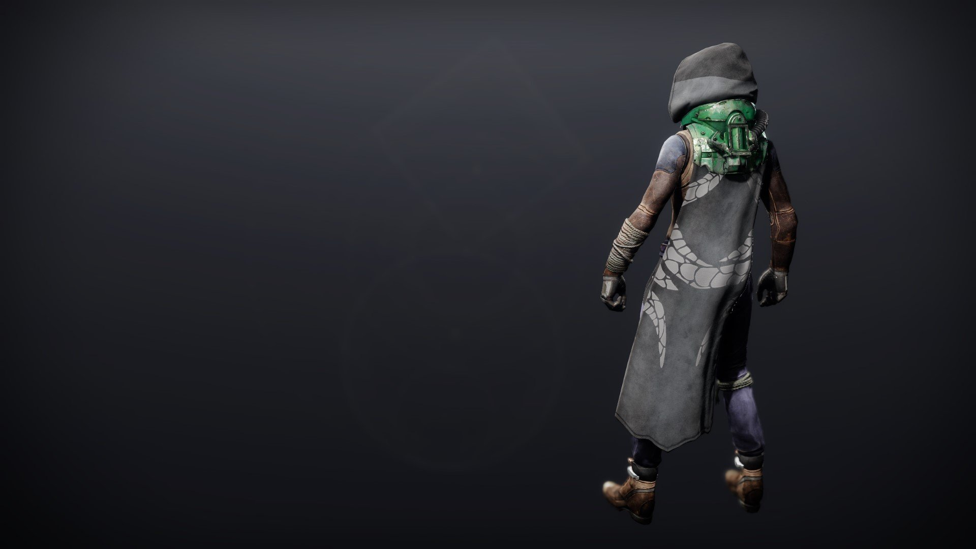 An in-game render of the Calamity Rig Cloak.