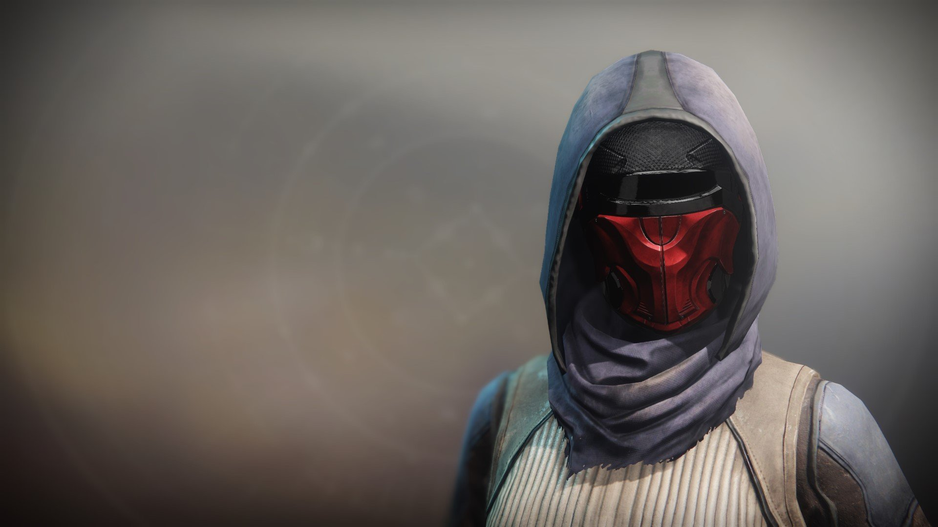An in-game render of the Bladesmith's Memory Mask.