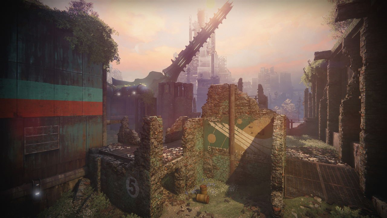 An in-game render of the Rusted Lands.