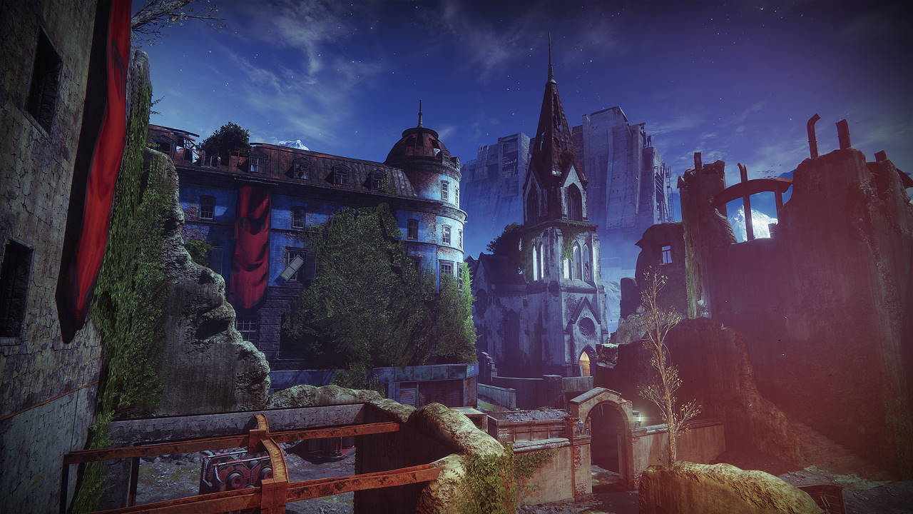An in-game render of the Widow's Court.