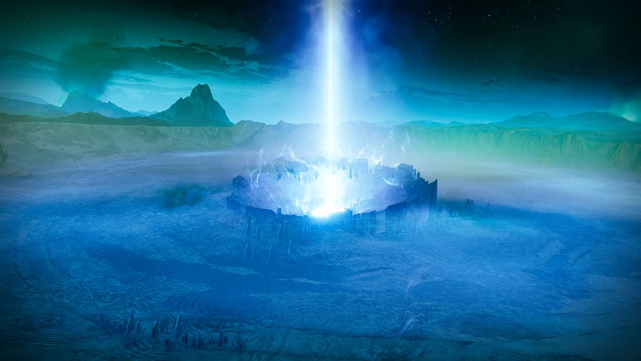 An in-game render of the Visions of Light.