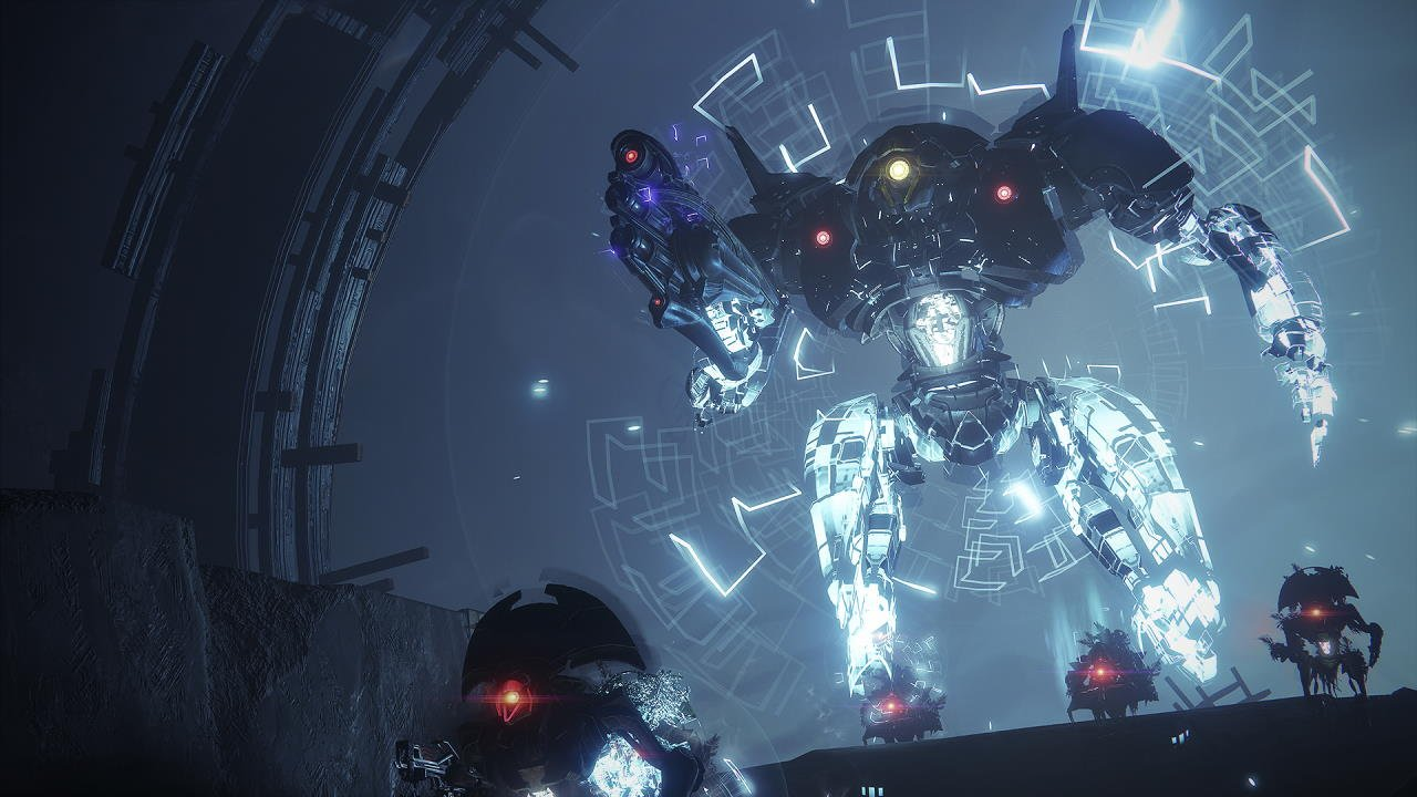 An in-game render of the Nightmare Hunt: Servitude: Adept.