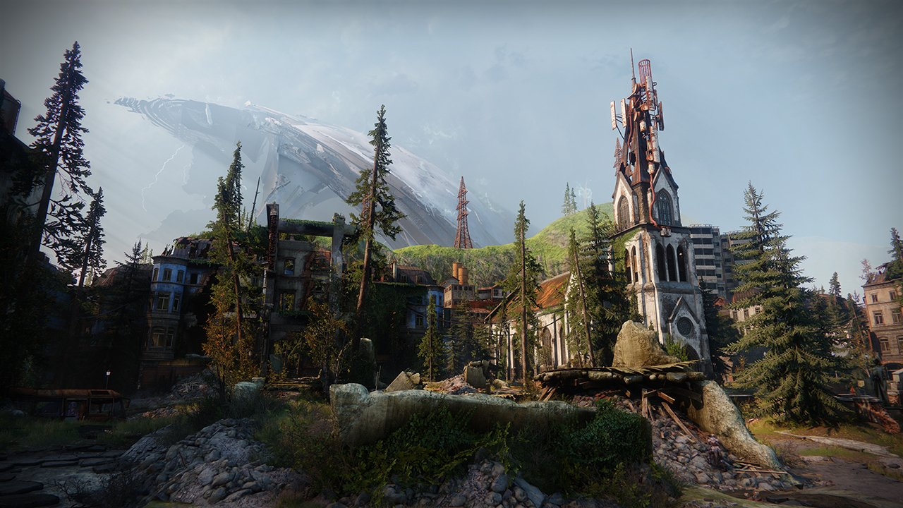 An in-game render of the European Dead Zone.