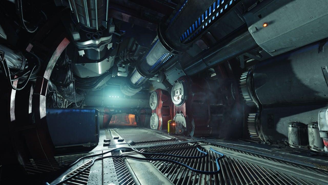 An in-game render of the Skydock IV (Legendary).