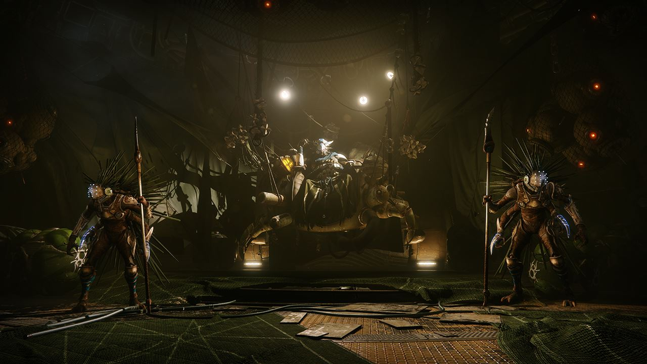 An in-game render of the Spider's Safehouse.