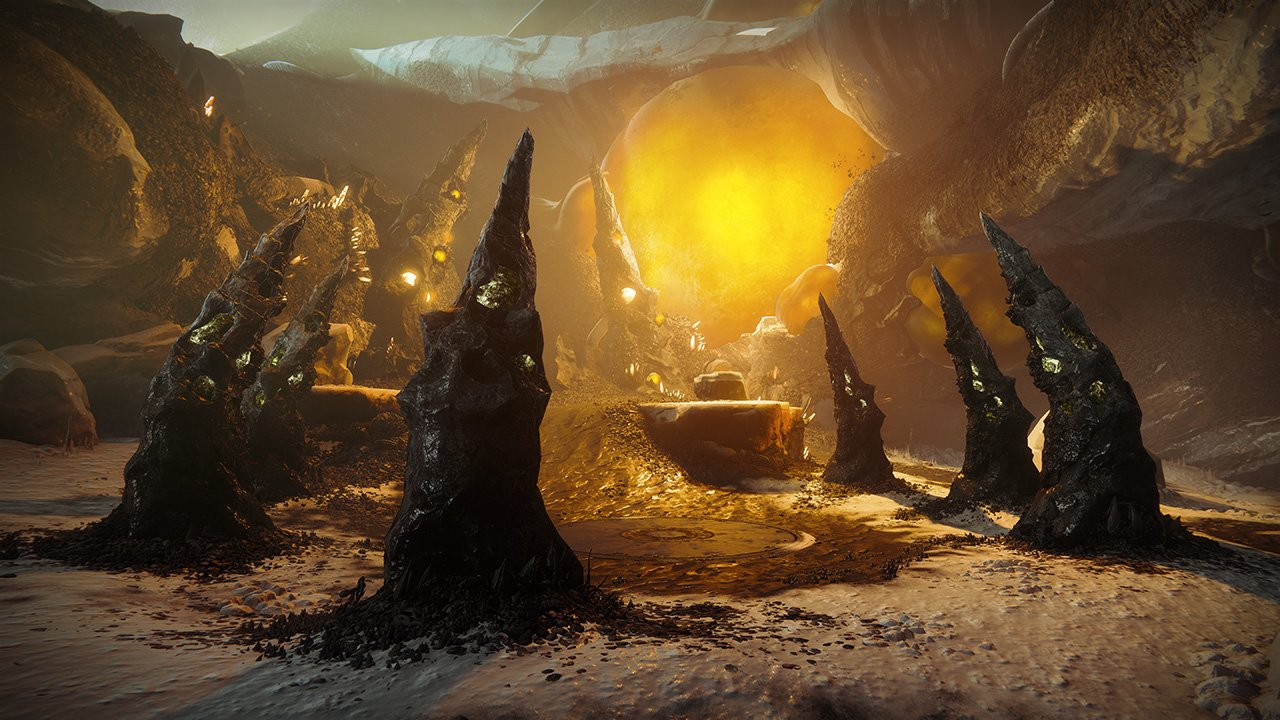 An in-game render of the Nightfall: The Ordeal: Strange Terrain.