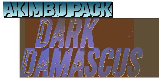 Bundle logo of Akimbo Pack: Dark Damascus