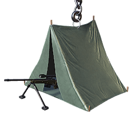 Image of Tent with sniper
