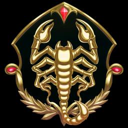 Gilded Scorpion