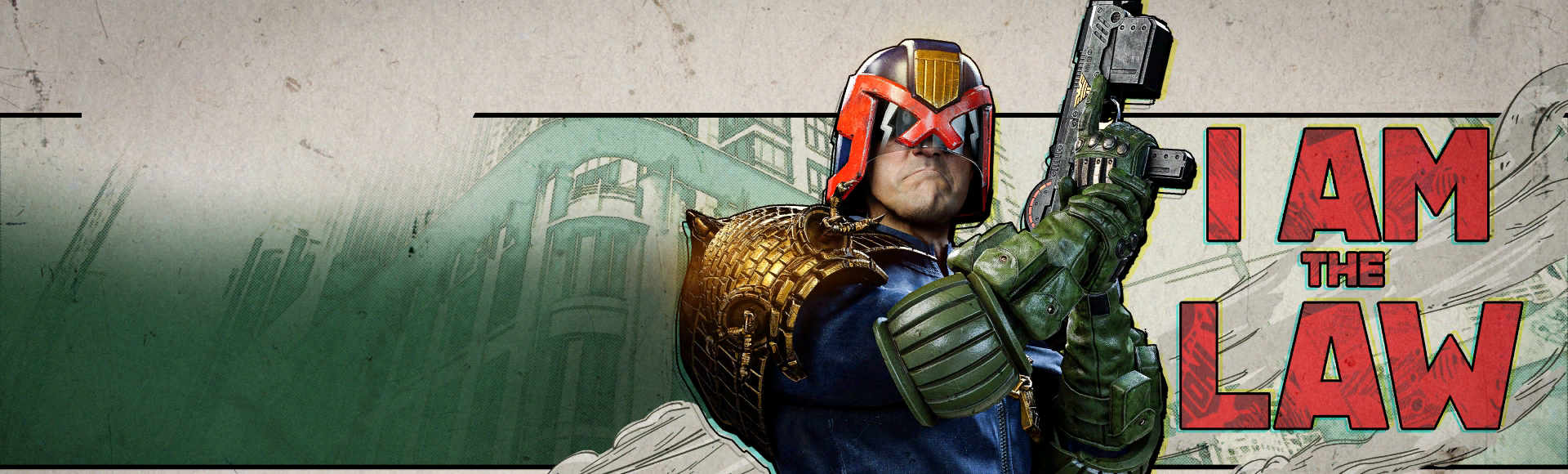 Bundle billboard of Tracer Pack: Judge Dredd
