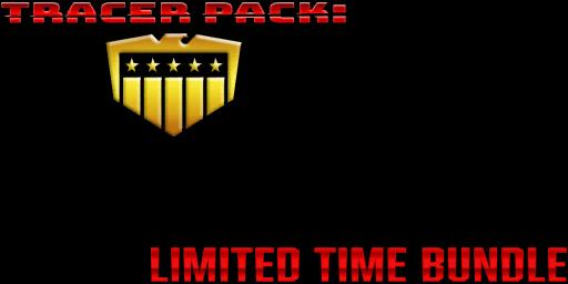 Bundle logo of Tracer Pack: Judge Dredd