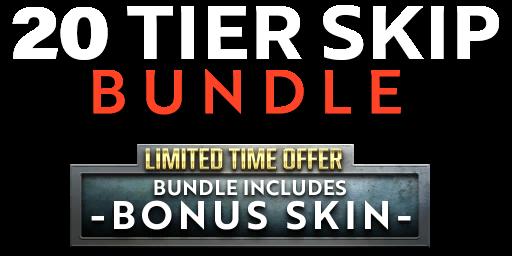 Bundle logo of Battle Pass Tier Skip Bundle