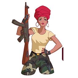 Image of Gunner Girl