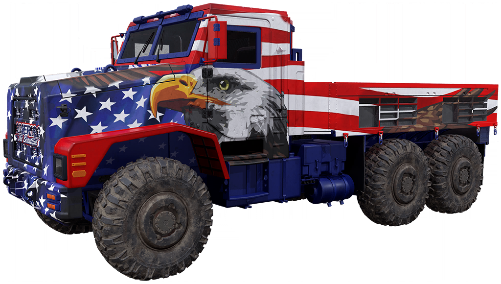 Image of Keep On Truckin'